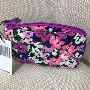 Vera Bradley makeup bag with hidden mirror